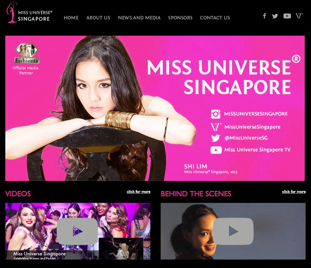 Miss Singapore Universe